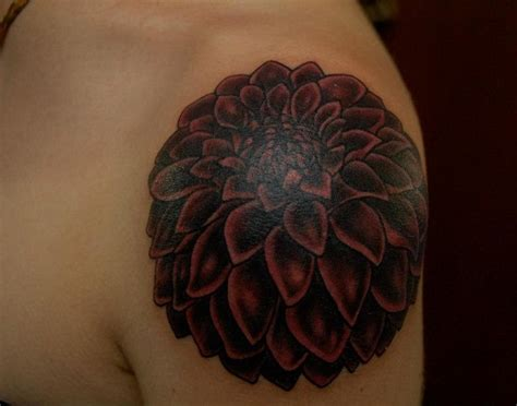 Dahlia Tattoos Designs, Ideas and Meaning | Tattoos For You