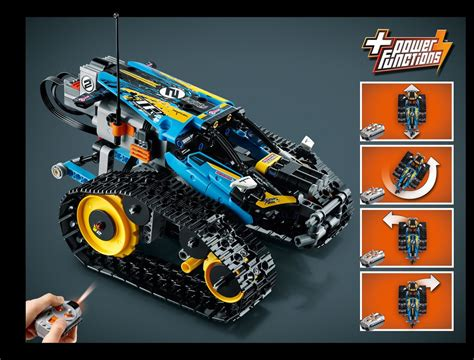 LEGO 42095 Remote-Controlled Stunt Racer Instructions, Technic