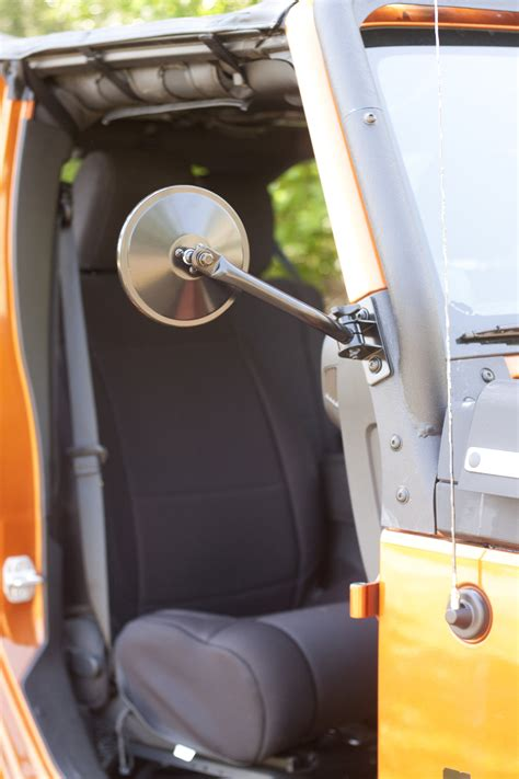 Rugged Ridge Quick Release Mirror Kit for 97-18 Jeep