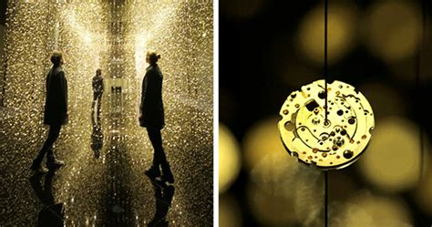 65,000 Glimmering Watch Base Plates Suspended At A Magical