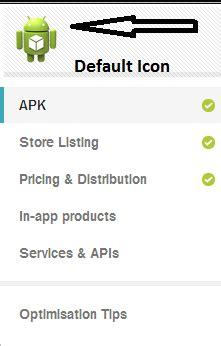 android - Uploaded App Show Default Icon on Google Play