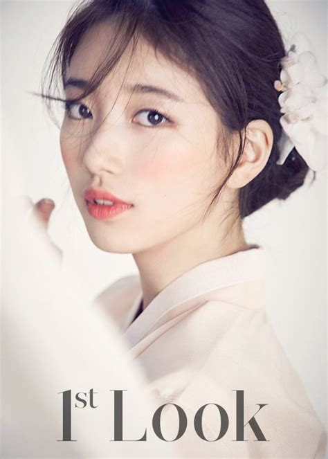 """Suzy Bae Shows Her Historical Look for """"Dorihwaga"""" on """"1st Look"""" Pictorial"""