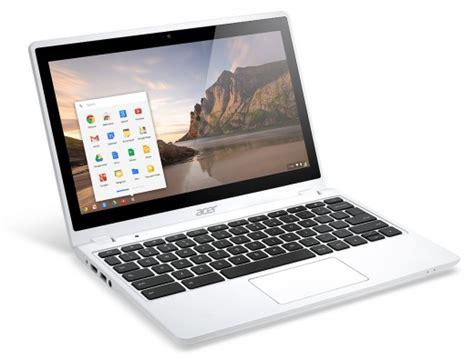 Acer C720 Touchscreen Chromebook Unveiled in White