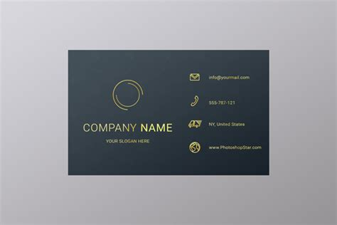 How to Make a Business Card in Photoshop | Photoshop Star