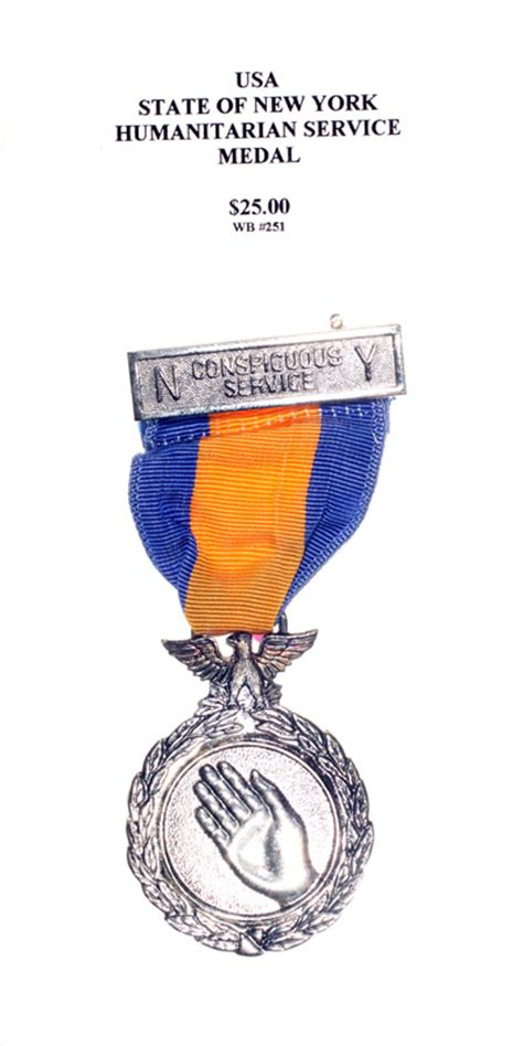 Various States of the United States of America - Medals of